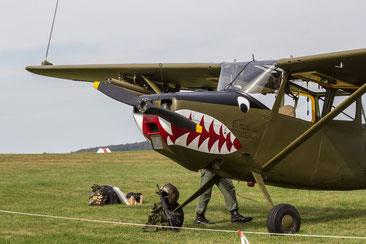 Cessna O-1E Bird Dog - I-BDOG (Foto: H.G. Hamann)