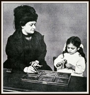Maria Montessori / Quelle: http://www.montessoricentenary.org