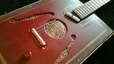 Mika Custom C-Box guitar