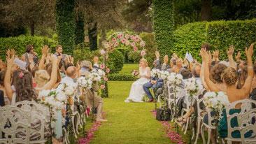 Apéritif vin d'honneur mariage