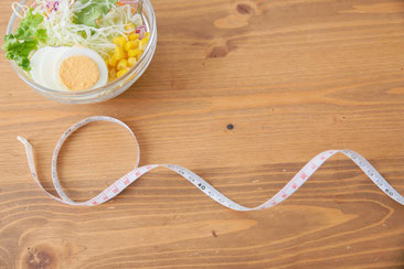 麻布十番パーソナルジムのサラダ