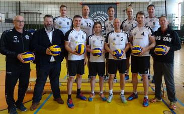 Die Herren 1 mit Sponsor Andreas Rother (vorne 2.v.l.)