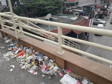 Philippines plastic pollution, litter