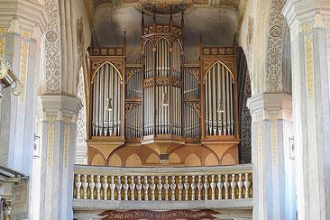 ヨーロッパの教会のオルガン