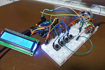 Thomas (SWL) experimentiert mit Arduino und DDS-VFO