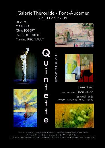 Exposition peinture sculpture Chris Jobert Pont Audemer Normandie Eure sculpteur Honfleur