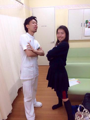 理学療法士時代の私と患者さん