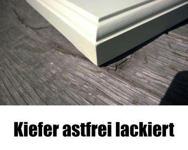 Fensterbank weiss Kiefer Profil Kopenhagen