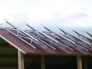 Solar Aufständerung