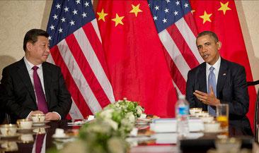 気候変動に対して共闘するオバマ大統領と習主席 CC BY-ND 2.0 U.S. Embassy The Hague