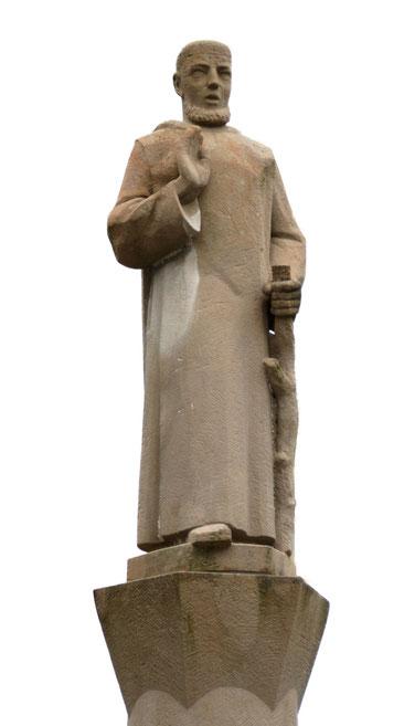 Denkmal für den heiligen Gallus. St. Gallen