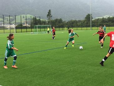 C Juniorinnen FC Buchs in Chur