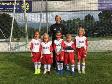 G Juniorinnen FC Buchs