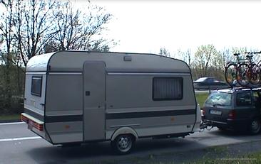 Auf dem Weg nach Dangast April 2000
