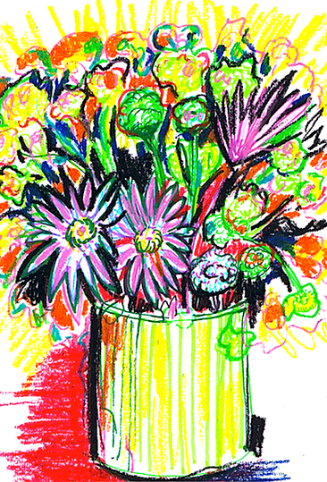 Expressive Pastel by Shelley Klammer