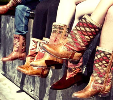 Fab Kiboots Streetstyle Vintage Western Boots
