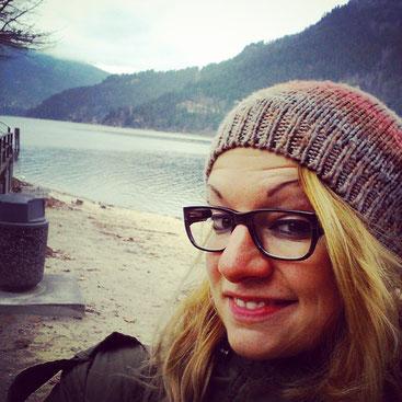 Me at the Kootaney Lake