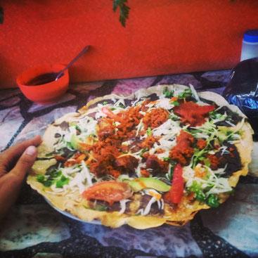 Me encanta la Tlayuda en Oaxaca!