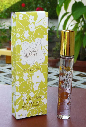 EAU DU DESIR - ROLL'ON -  EAU DE TOILETTE 7,5 ML - 2010
