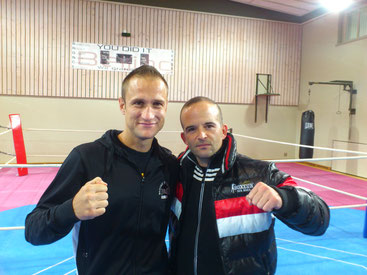 Marco Spath - Cheftrainer BOXING TEAM ITTIGEN und S. Cottalorda (3* AIBA Coach France National Boxing Team) 08.10. 2016