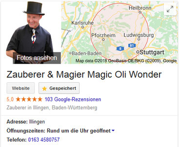 Zauberer in Ilsfeld, Zauberkünstler in Ilsfeld, Zauberer in Bönnigheim, Zauberer in Freudental, Zauberer in Kirchheim am Neckar, Zauberer in Erligheim, Zauberer in Talheim, Zauberer in Gemmrigheim, Tischzauberer, Mentalshow, Zaubershow, Kinderzauberer
