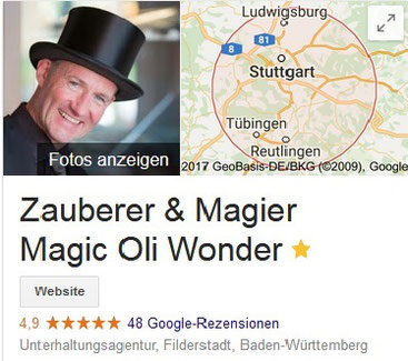 Zauberer in Walldorf, Magic Oli Wonder zaubert in Walldorf, Zauberkünstler in Walldorf, Magier in Walldorf, Mentalist in Walldorf, Hochzeit in Walldorf, Firmenfeier in Walldorf, Mentalshow in Walldorf, Magic Dinner in Walldorf, Zaubershow in Walldorf