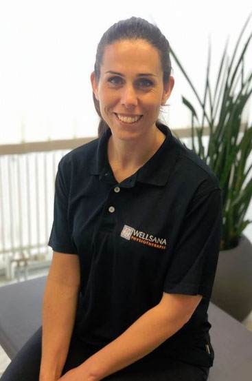 Vanessa da Silva, Physiotherapeutin der Physiopraxis Wellsana in Basel, Bobath Therapie, manuelle Therapie, Masseurin, Physiotherapeutin