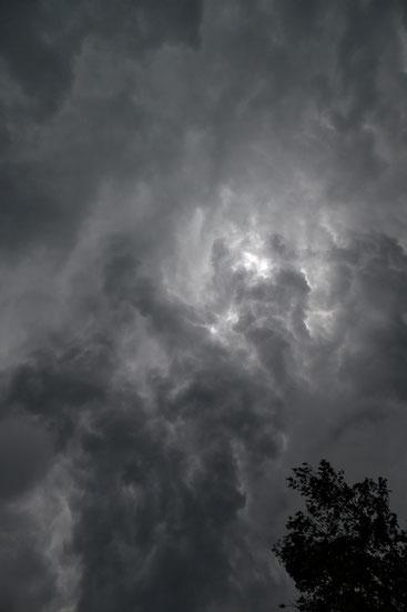 Gewitter, Gewitterwolke, Altefähr, Rügen, Mecklenburg-Vorpommern, 2019