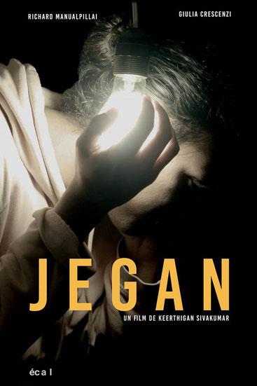 short film poster of 'Jegan' directed by Keerthigan Sivakumar