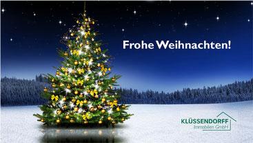 Weihnachtskarte Titelseite