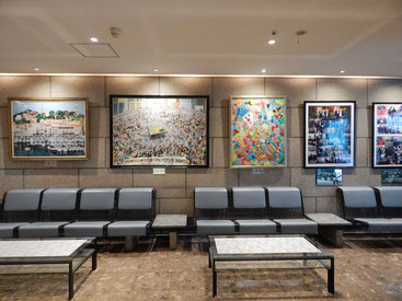 ホテルグランドサン横浜 北野 武さん寄贈の絵画