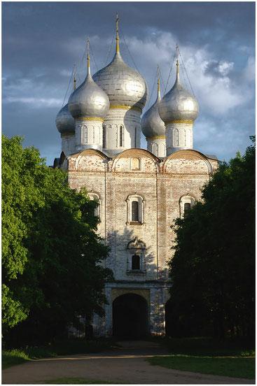 Церковь Сергия Радонежского Ростовского Борисоглебского монастыря. 2005 г.