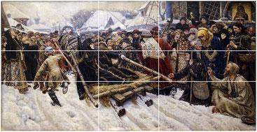В. И. Суриков. Боярыня Морозова. 1884-1887 гг.