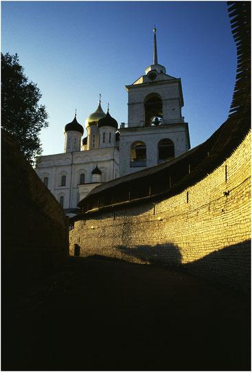 Псковский Кром (Кремль). 2002 г.