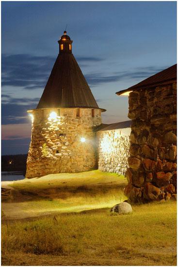 Башня Соловецкого монастыря. Архангельская обл. Август 2006  г.