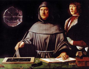Лука Пачоли. Портрет работы Якопо де Барбари. Ок. 1495 г.