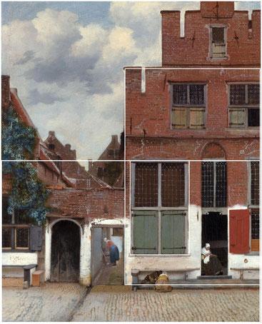 Ян Вермеер. Маленькая улица. 1657