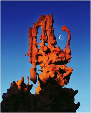 Изнанка небытия. Юго-Западная пустыня. Фото Майкла Фатали. 2000 год.