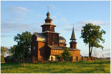 Деревянная церковь в селе Богослов. Моя фотография