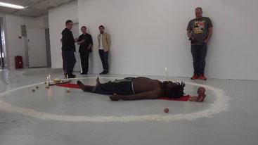 Requiem pour un Fou/Remember Thomas Sankara, Performance Christian Etongo 2016,Copenhagen,Denmark