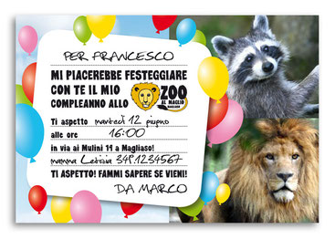 Compleanno allo zoo di Magliaso