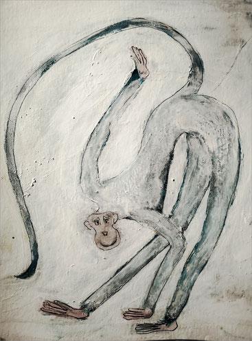 Christiane Holsten: Affenkunst XXI