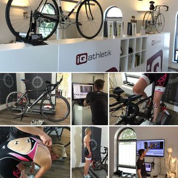 Das soq.de Magazin macht den Bikefittingtest bei iQ athletik