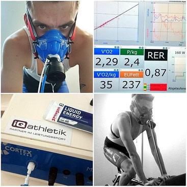 Stoffwechselanalyse bei iQ athletik in Frankfurt