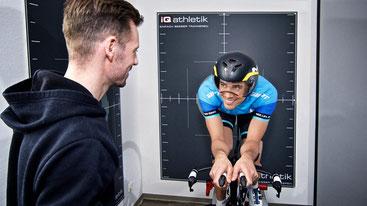 Bikefitting mit Pascal Ramali