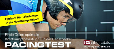 Pacingtest im Triathlon
