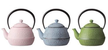 nanbu castiron color teapot
