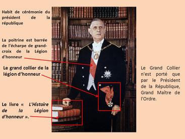 Le grand collier de la légion d'honneur - Cliquer pour agrandir