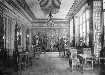 Indoor garden room from the STUDY