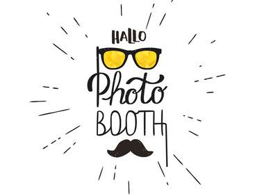 Logo Hallo Photobooth Videobooth Party